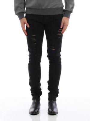 Dior: skinny jeans online - Ripped denim jeans