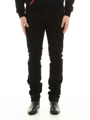 Dior: straight leg jeans online - Jeans with patched rips
