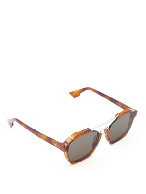 Dior: sunglasses - Abstract havana sunglasses