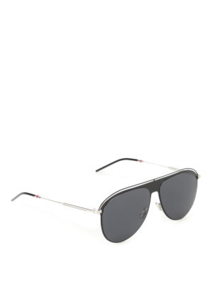 Dior: sunglasses - Aviator style black sunglasses