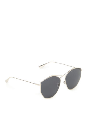 Dior: sunglasses - Crossed bridge sunglasses