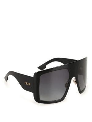 DIOR: sunglasses - DiorSoLight1 black sunglasses