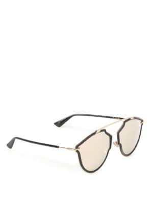 Dior: sunglasses - DiorSoRealRise black sunglasses