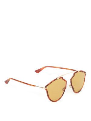 Dior: sunglasses - DiorSoRealRise tortoise sunglasses