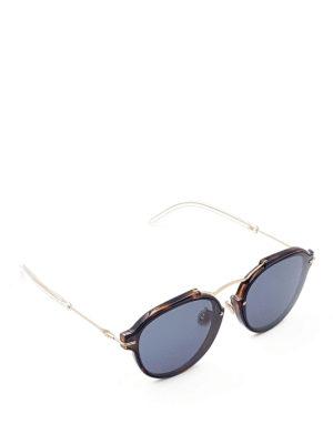 Dior: sunglasses - Eclat havana sunglasses