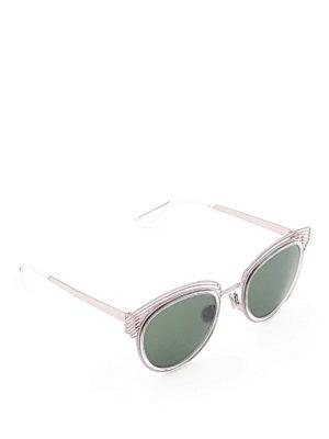 Dior: sunglasses - Enigme titanium sunglasses