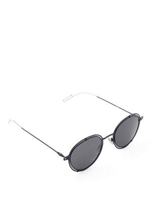 Dior: sunglasses - Metal round sunglasses