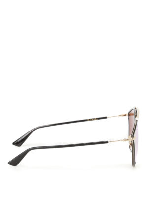 Dior: sunglasses online - DiorSoRealRise black sunglasses