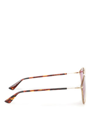 Dior: sunglasses online - DiorSoRealRise gold-tone sunglasses
