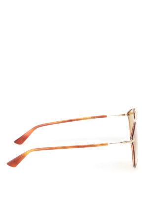 Dior: sunglasses online - DiorSoRealRise tortoise sunglasses