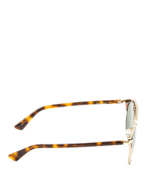 Dior: sunglasses online - So Real havana and gold sunglasses
