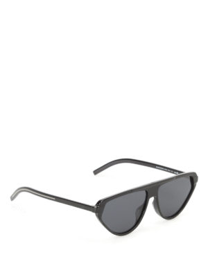 Dior: sunglasses - Optyl detailed acetate sunglasses