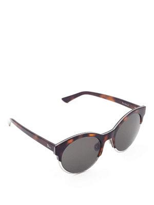 Dior: sunglasses - Sideral1 havana sunglasses