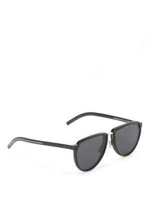 Dior: sunglasses - Silver bridge sunglasses