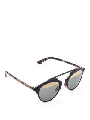 Dior: sunglasses - So Real bicolour lenses sunglasses