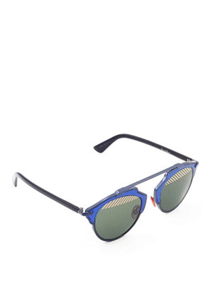 Dior: sunglasses - So Real striped lenses sunglasses