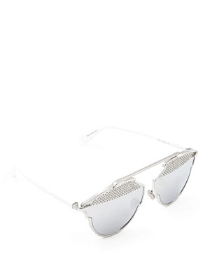 Dior: sunglasses - So Real studded sunglasses