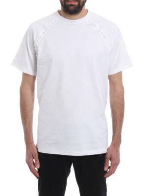 Dior: t-shirts online - Staple detailed T-shirt