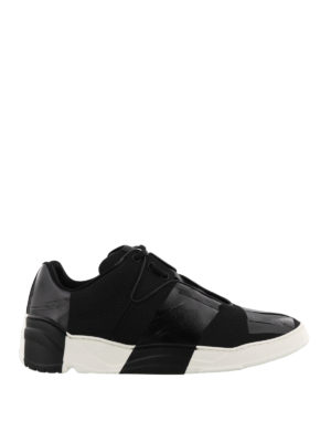 Dior: trainers - Adhesive tape effect sneakers