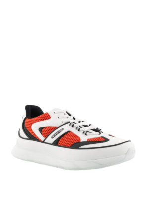 Dior: trainers online - White leather detailed sneakers