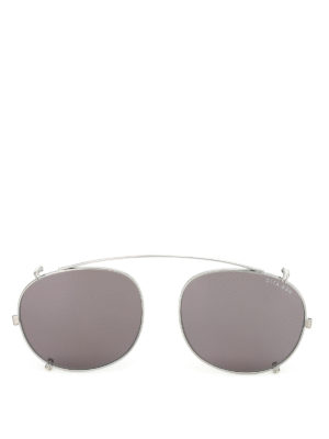 Dita: sunglasses - Ash temple-less clip on lenses