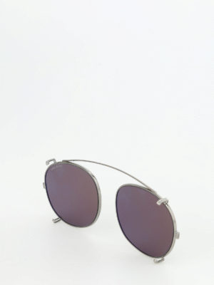 Dita: sunglasses online - Ash temple-less clip on lenses