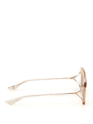 Dita: sunglasses online - Erasur sheer frame sunglasses