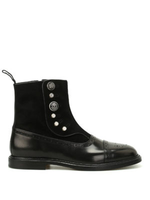 Dolce & Gabbana: ankle boots - Michelangelo black ankle boots