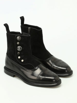 Dolce & Gabbana: ankle boots online - Michelangelo black ankle boots
