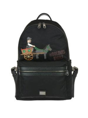Dolce & Gabbana: backpacks - DG Loves Italy backpack