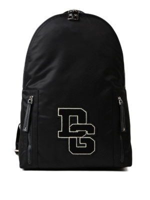 Dolce & Gabbana: backpacks - DG nylon backpack