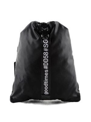 Dolce & Gabbana: backpacks - Good Times soft drawstring backpack