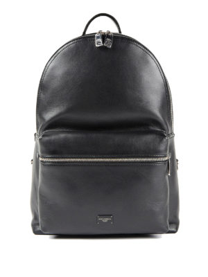 Dolce & Gabbana: backpacks - Mediterraneo leather backpack