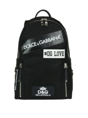 Dolce & Gabbana: backpacks - Millenials nylon backpack