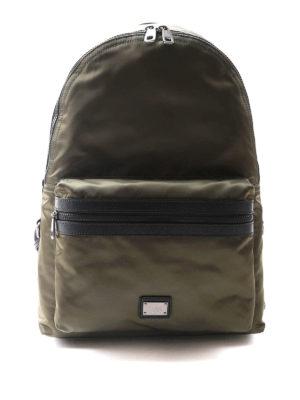 Dolce & Gabbana: backpacks - Nylon backpack