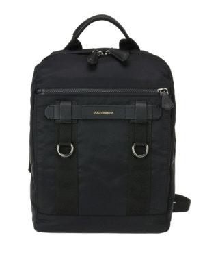 Dolce & Gabbana: backpacks - Nylon mountain backpack