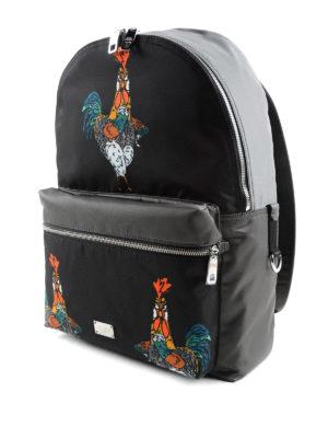 Dolce & Gabbana: backpacks online - Cockerel print backpack