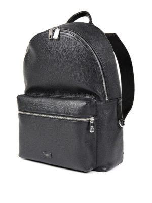 Dolce & Gabbana: backpacks online - Deer leather dome backpack