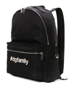 Dolce & Gabbana: backpacks online - #DG Family nylon backpack