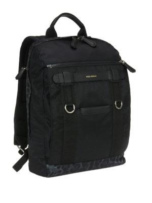 Dolce & Gabbana: backpacks online - Leo print details nylon backpack