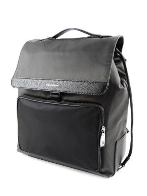 Dolce & Gabbana: backpacks online - Maxi pocket nylon backpack