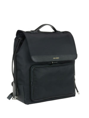 Dolce & Gabbana: backpacks online - Maxi pocket nylon backpack