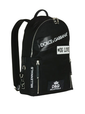 Dolce & Gabbana: backpacks online - Millenials nylon backpack