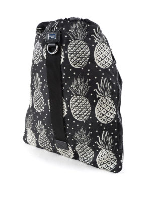 Dolce & Gabbana: backpacks online - Printed nylon drawstring backpack