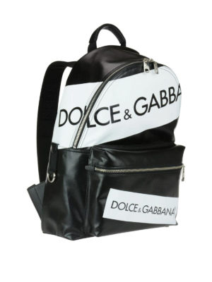 Dolce & Gabbana: backpacks online - Vulcano logo backpack