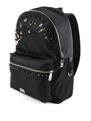 Dolce & Gabbana: backpacks online - Vulcano nylon backpack