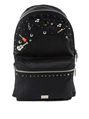 Dolce & Gabbana: backpacks - Vulcano nylon backpack