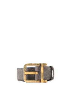 Dolce & Gabbana: belts - Crackle leather belt