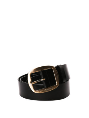 Dolce & Gabbana: belts - Leather belt