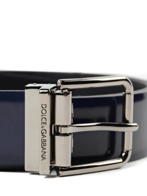 Dolce & Gabbana: belts online - Correggio calf leather belt
